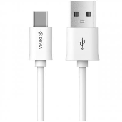 کابل تبدیل USB به Type-C دویا مدل Smart به طول 1 متر (سفید)