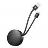 کابل تبدیل USB به لایتنینگ باسئوس مدل  NEW ERA STORAGE TYPE به طول 0.9 متر