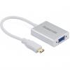 مبدل mini HDMI به VGA و انتقال صدا 3.5 میلی متری یوگرین مدل 40217