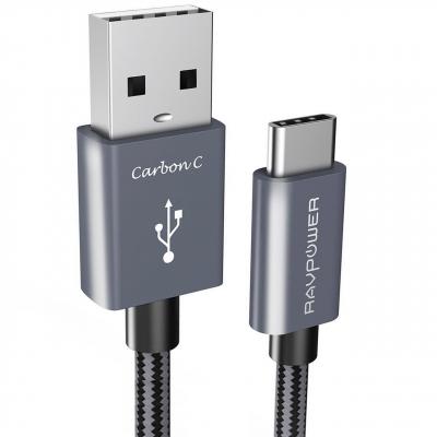 کابل تبدیل USB به USB-C راو پاور مدل RP-TPC005 طول 1.8 متر