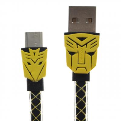 کابل تبدیل USB به USB-C لامیو مدل Transformers به طول 1 متر