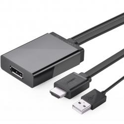 مبدل DisplayPort به HDMI و USB یوگرین مدل MM107