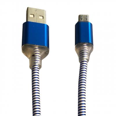 کابل تبدیل USB به microUSB گلد به طول 1 متر