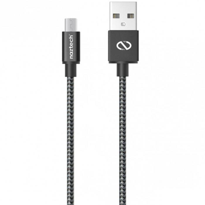 کابل تبدیل USB به microUSB نزتک مدل Braided طول 1.2 متر