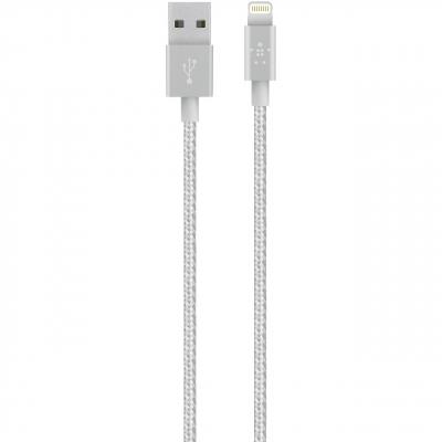 کابل تبدیل USB به لایتنینگ بلکین مدل MIXIT Metallic به طول 1.2 متر