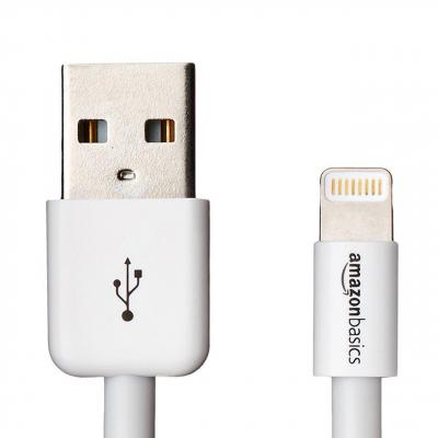 کابل تبدیل USB  به لایتنینگ آمازون بیسیکس طول 1.8 متر