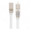 کابل تبدیل USB به microUSB و لایتنینگ جوی روم مدل S-T504 2 In 1 به طول 1.2 متر