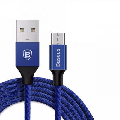 کابل تبدیل USB به microUSB باسئوس مدل Yiven به طول 1 متر (مشکی)