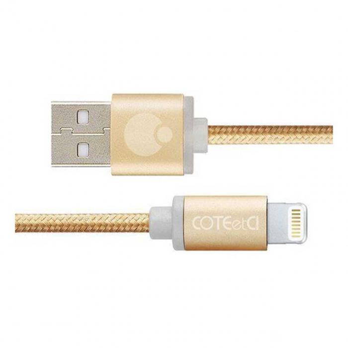 کابل تبدیل USB به لایتنینگ کوتتسی مدل M30 به طول 3 متر