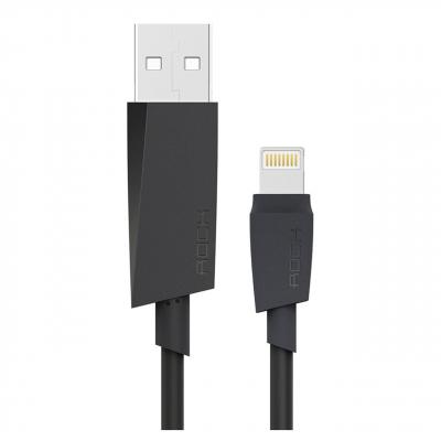 کابل تبدیل USB به لایتنینگ راک مدل M3 MFI Round طول 1 متر