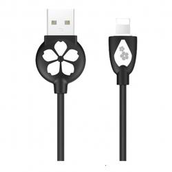 کابل تبدیل USB به لایتنینگ هوکو مدل JP15 به طول 1.2 متر