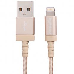 کابل تبدیل USB  به لایتنینگ آمازون بیسیکس نایلونی طول 1.8 متر