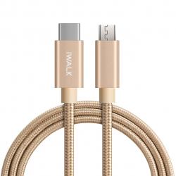 کابل تبدیل USB-C به microUSB آی واک مدل CSS001C طول 1 متر
