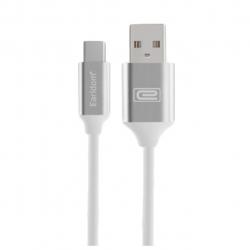 کابل تبدیل USB-C به microUSB ارلدام مدل EC-001C به طول 1 متر