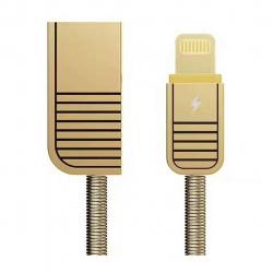 کابل تبدیل USB به لایتنینگ ریمکس مدل RC-088i به طول 1 متر (طلایی)