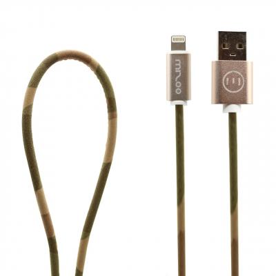 کابل تبدیل USB به لایتنینگ مدل Graffiti AP 11 به طول 1 متر