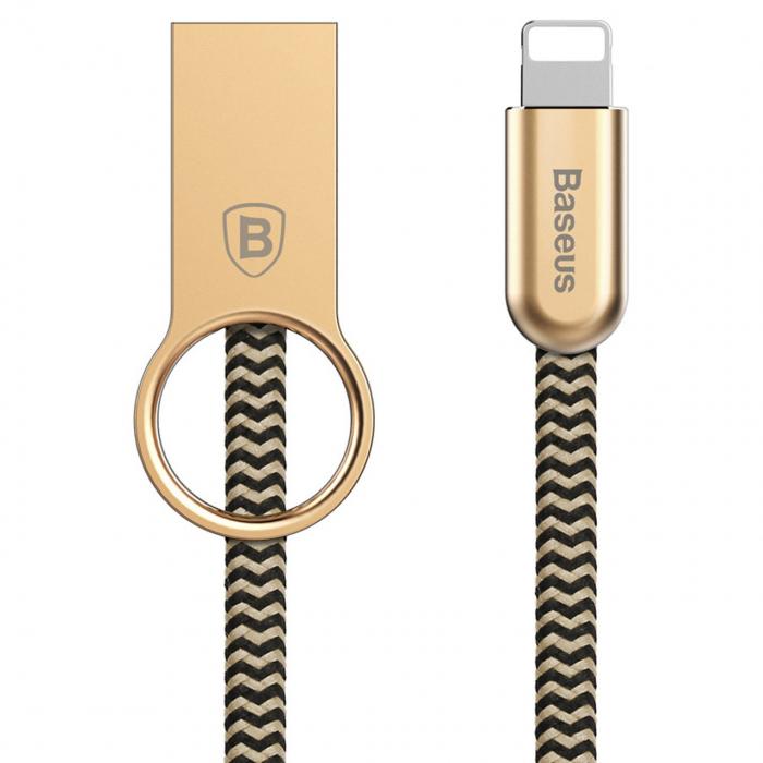 کابل تبدیل USB به لایتنینگ باسئوس مدل Ring طول 1 متر