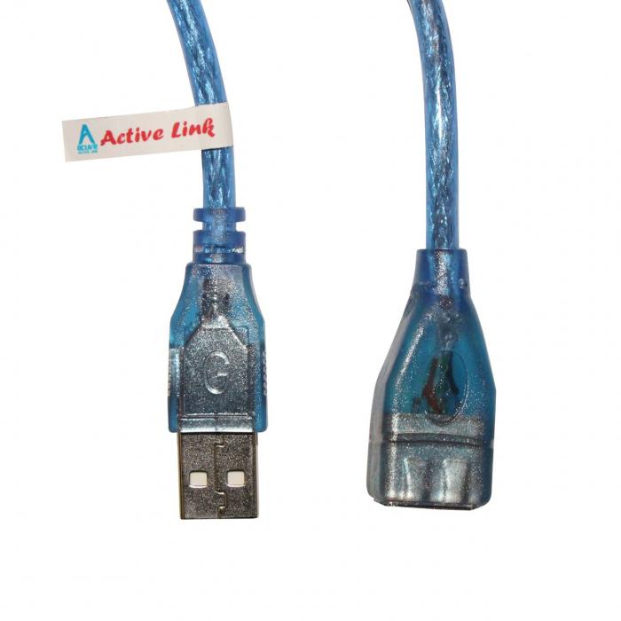 کابل افزایش طول USB 2.0 اکتیو لینک به طول 3 متر