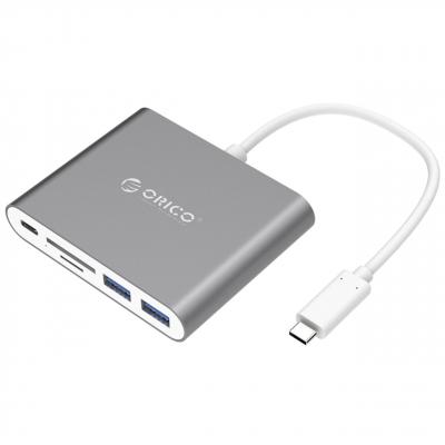 مبدل USB-C به USB و کارت خوان اوریکو مدل RCC2A