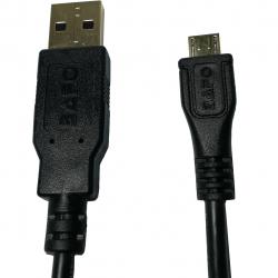 کابل تبدیل USB به microUSB بافو مدل AMicB طول 1.5 متر