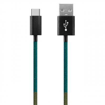 کابل تبدیل USB به USB-C ود اکس مدل C-23 به طول 1 متر (چند رنگ)