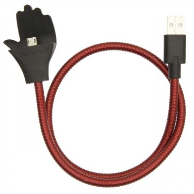 کابل تبدیل USB به micro USB سومگ مدل Flexible به طول 54 سانتی متر (طلایی)