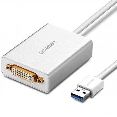 مبدل USB 3.0 به DVI یوگرین مدل 40243