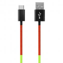 کابل تبدیل USB به USB-C ود اکس مدل C-25 به طول 1 متر