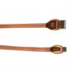 کابل تبدیل USB به microUSB ریمکس مدل RC-035M به طول 1 متر