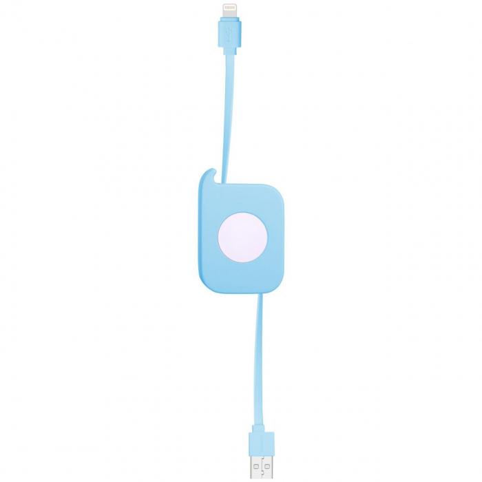 کابل تبدیل USB به لایتنینگ مومکس مدل Easy Link طول 0.8 متر