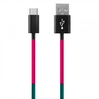 کابل تبدیل USB به USB-C ود اکس مدل C-22 به طول 1 متر (چند رنگ)