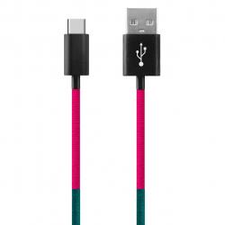 کابل تبدیل USB به USB-C ود اکس مدل C-22 به طول 1 متر