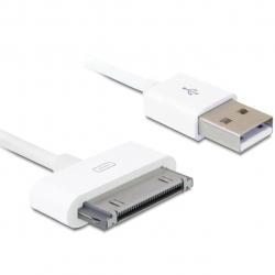 کابل شارژ  تبدیل USB  به ۳۰پین مناسب برای iPod، iPhone،iPad