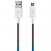 کابل تبدیل USB به MicroUSB ود اکس مدل C-6 به طول 1 متر