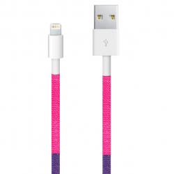 شکابل تبدیل USB به Lightning ود اکس مدل C-42 به طول 1 متر