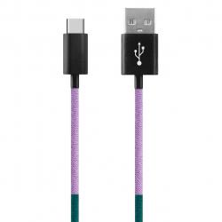 کابل تبدیل USB به USB-C ود اکس مدل C-31 به طول 1 متر