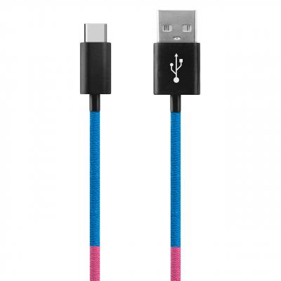 کابل تبدیل USB به USB-C ود اکس مدل C-39 به طول 1 متر (چند رنگ)