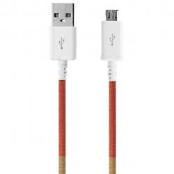 کابل تبدیل USB به MicroUSB ود اکس مدل C-17 به طول 1 متر