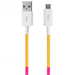 کابل تبدیل USB به MicroUSB ود اکس مدل C-1 به طول 1 متر