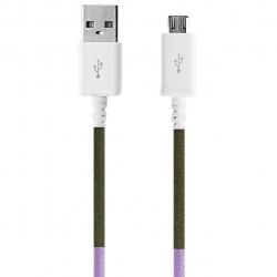 کابل تبدیل USB به MicroUSB ود اکس مدل C-7 به طول 1 متر