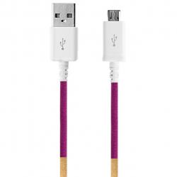 کابل تبدیل USB به MicroUSB ود اکس مدل C-12 به طول 1 متر