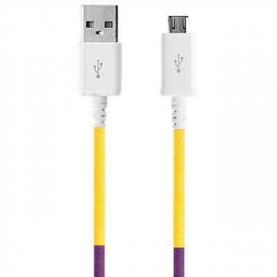 کابل تبدیل USB به MicroUSB ود اکس مدل C-18 به طول 1 متر (چند رنگ)