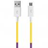 کابل تبدیل USB به MicroUSB ود اکس مدل C-18 به طول 1 متر
