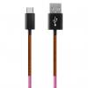 کابل تبدیل USB به USB-C ود اکس مدل C-28 به طول 1 متر