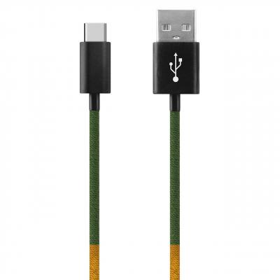 کابل تبدیل USB به USB-C ود اکس مدل C-21 به طول 1 متر (چند رنگ)