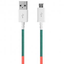کابل تبدیل USB به MicroUSB ود اکس مدل C-15 به طول 1 متر