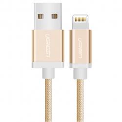 کابل تبدیل USB به لایتنینگ یوگرین مدل US199 طول 1 متر