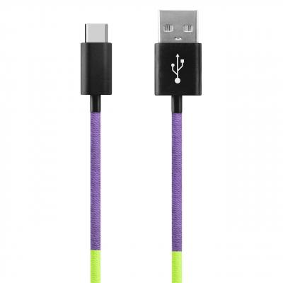 کابل تبدیل USB به USB-C ود اکس مدل C-29 به طول 1 متر (چند رنگ)
