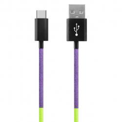 کابل تبدیل USB به USB-C ود اکس مدل C-29 به طول 1 متر