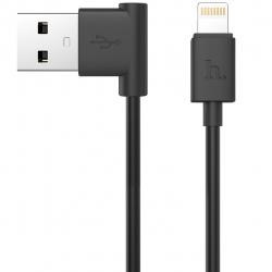 کابل تبدیل USB به لایتنینگ هوکو مدل UPL11 L Shape طول 1.2 متر